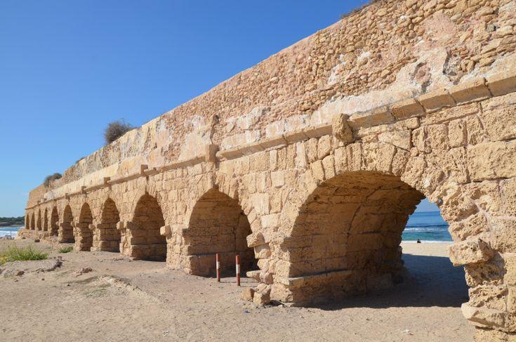 Image result for herodian aqueduct caesarea | Caesarea ...