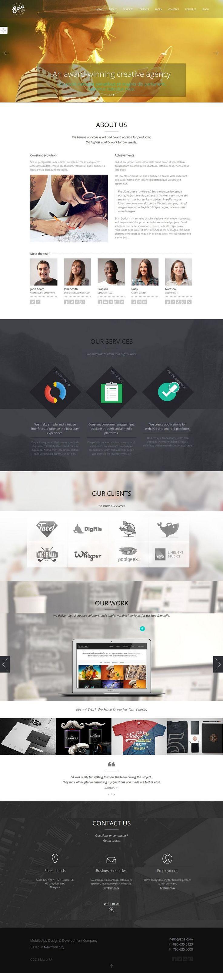 Wunderbar Geschäftsvorlagen Wordpress Galerie - Beispiel Business ...