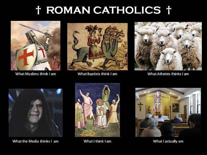 Being Roman Catholic #Catholic #Christianity #humor