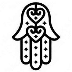 tattoo hamsa stencil - Szukaj w Google