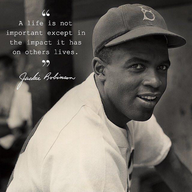 Celebrating Black History Month with Jackie Robinson, who joined the Brooklyn Dodgers in 1947, breaking the color line and later becoming one of baseball's greatest players