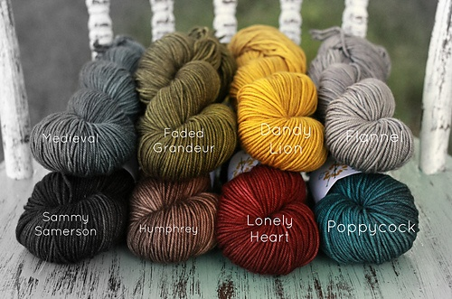 Plucky Blanket Set - Primo Worsted - Hay Ride - The Plucky Knitter