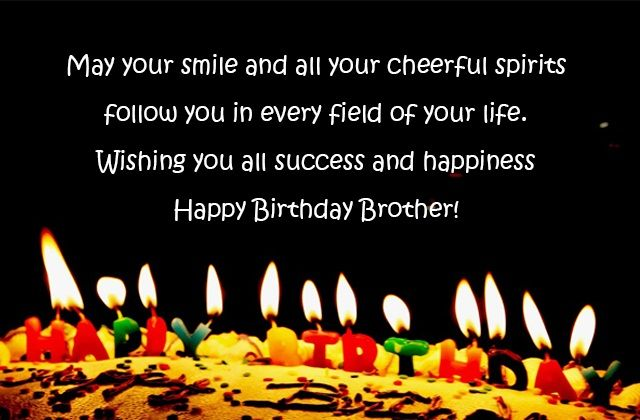 Birthday Quotes for Brother – Birthday Wishes, Images and Messages for brother