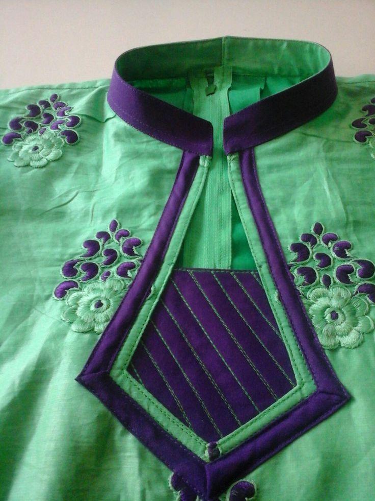 45 best churidar neck design images on Pinterest   Blouse, Designing ...