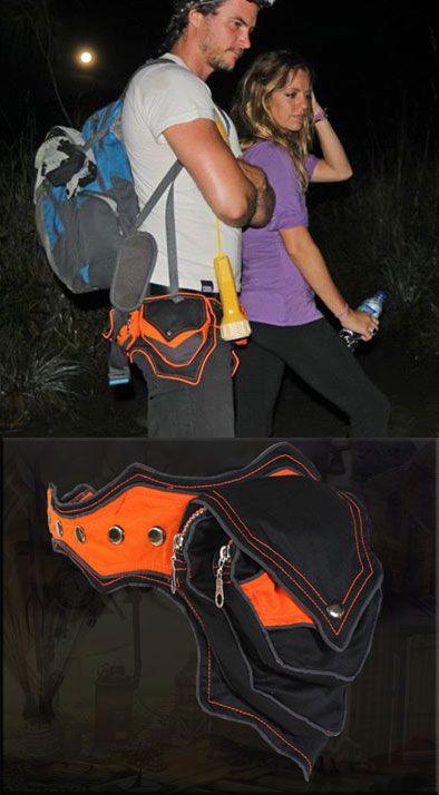 neo tribe tribal pocket-belt utilità cintura tasca tribale
