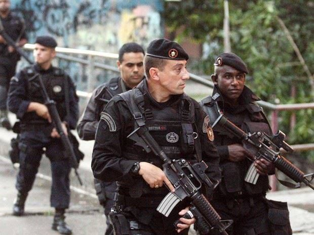 so BOPE (Special Operations Battalion) from Brazil