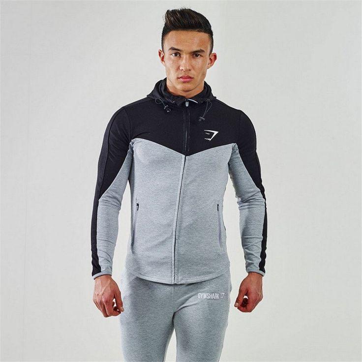 Gymshark Hoodies Camisetas Masculina Hombre Mantel Bodybuilding and Fitness Hoodies Sweatshirts Muscle herren Sportswear