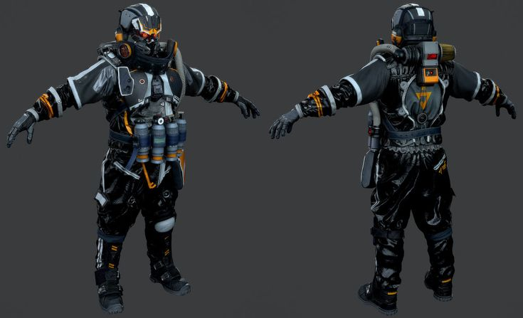 Killzone Shadow Fall - Helghast Engineer by luxox18
