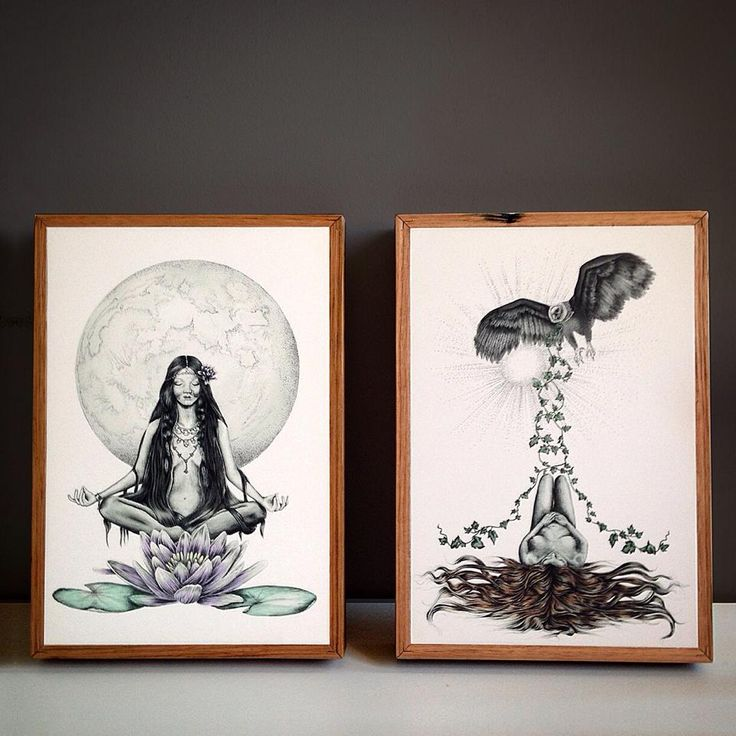 Illustrations by Melbourne based artist Steph Elise. Prints on stone and reclaimed timber by @Imogen_Stone. Available to buy through: www.imogenstone.com.au