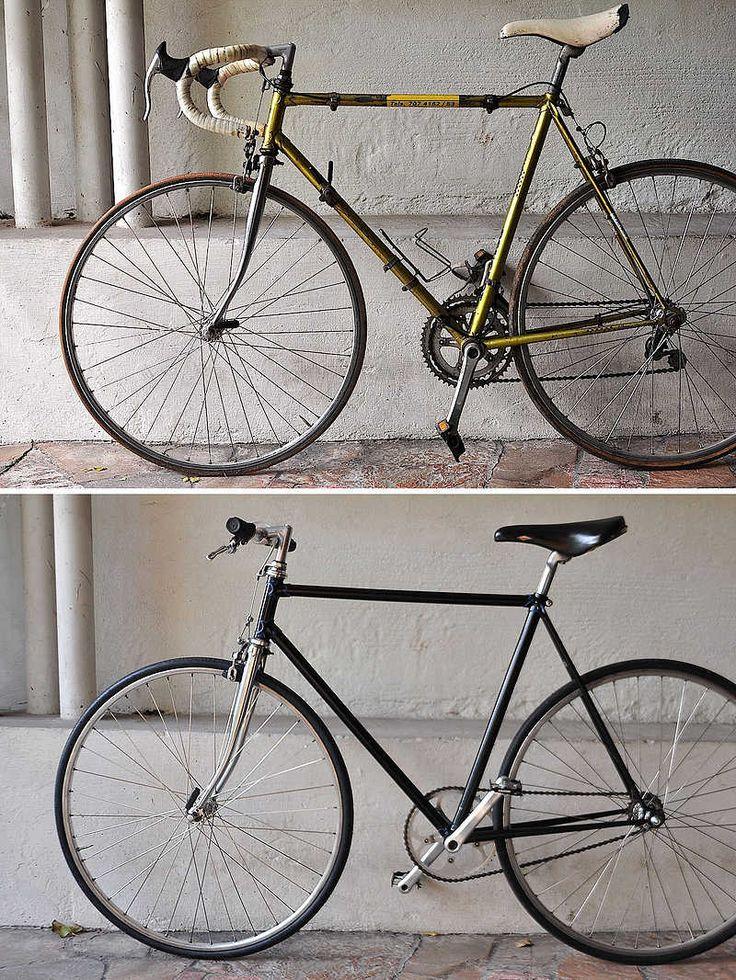 A maneira mais barata de montar uma fixa é a partir de uma bicicleta de estrada ou MTB já montada e que tenha duas características: 1)  gan...