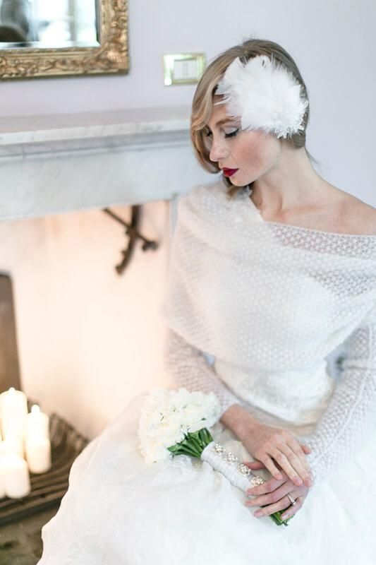 80ecdedceaaa Abiti da sposa invernali modello Bolero