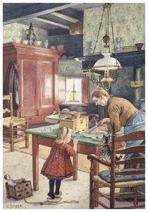 Uit: De wereld in  Jetses, Cornelis   Postcards