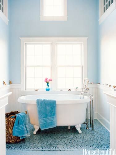 60 colorful bathrooms to inspire your next makeover for Pretty bathrooms