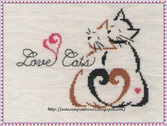 Cute Love Cats - Calendário dos gatos - Britly Kitty Monthly - Brittercup