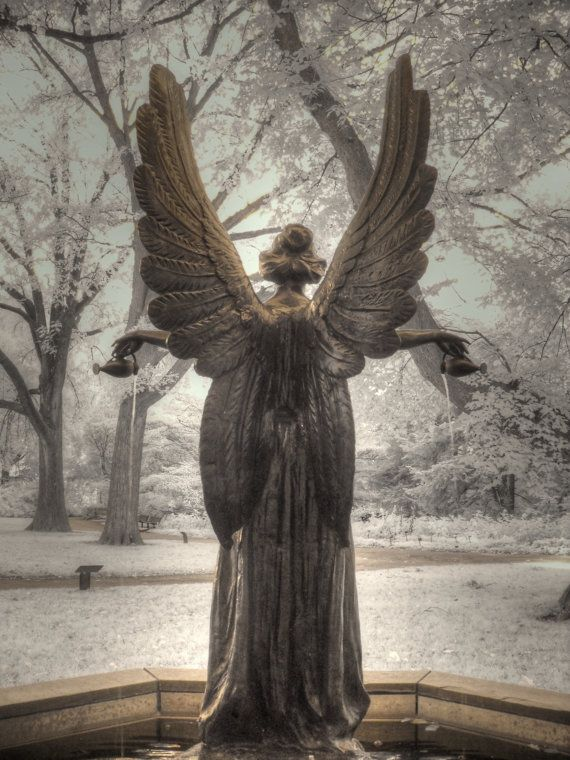 Angel Infrared photography St. Louis by FengShuiPhotography