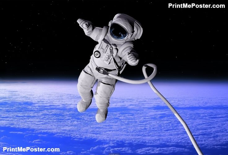 Poster of The astronaut, Space Posters, #poster, #printmeposter, #mousepad, #tshirt
