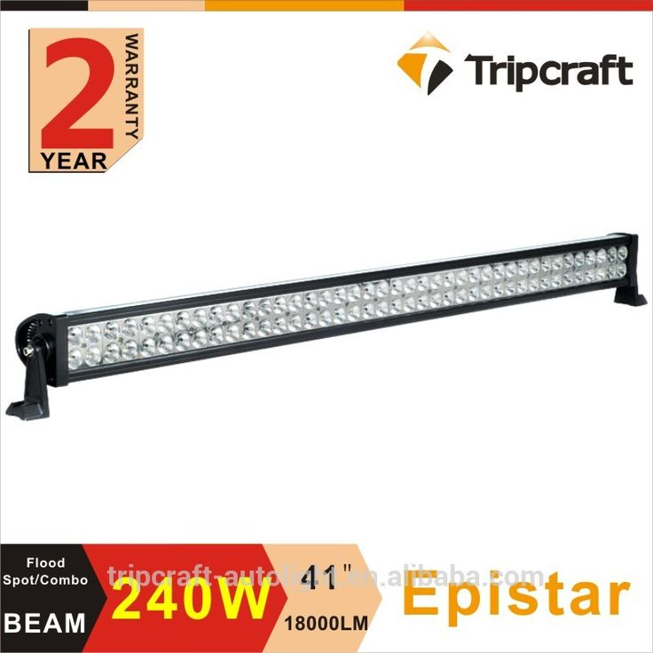wholesale offroad led light bar 240w spot/flood/Combo Beam off road led bar