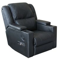 X-ROCKER-COMPUTERS AND SOFTWARE-Gadgets-Gaming Chair-£399.00-Its fair to say that modern day 21st century living has a number of clever devices to make our life a bit easier 60 inch TVs, ingenious smartphones that do it all, high definition Blu-ray players. So why is it that we still have to sit on dingy sofas and chairs that barely keep us comfortable? Why not own a chair that does more than just function as something to sit on, with this X-Rocker Bluetooth Multimedia Recliner Gaming…