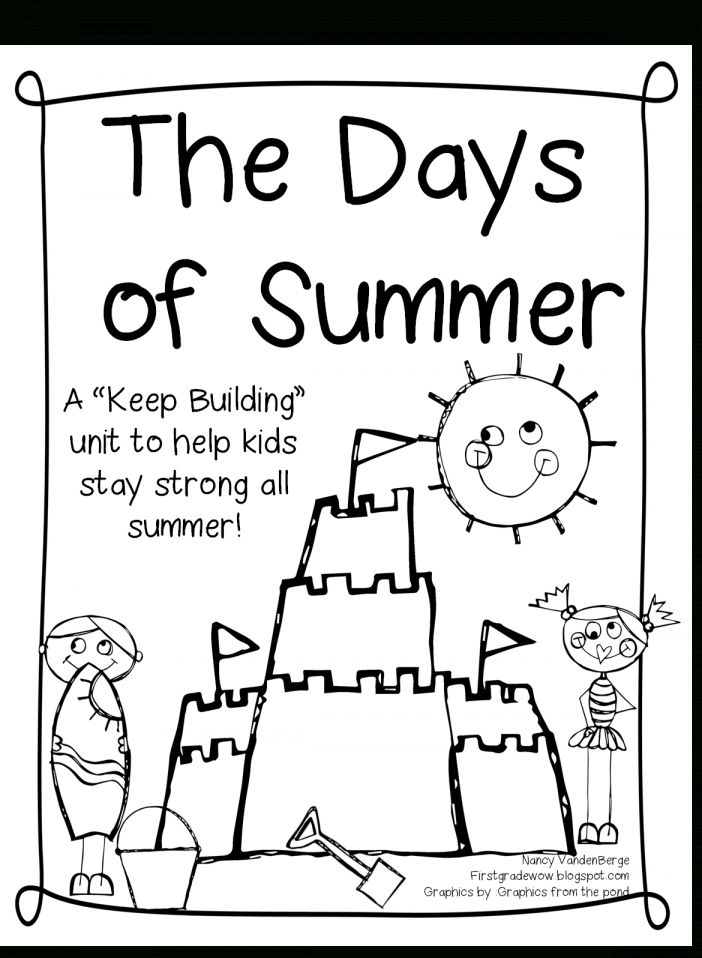 1St Grade Worksheet Packets Free and The Days Of Summer! A