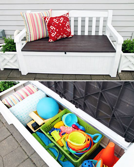 Best 25+ Outdoor toy storage ideas on Pinterest | Kids outdoor toys Outdoor toys and Toy shed ideas  sc 1 st  Pinterest & Best 25+ Outdoor toy storage ideas on Pinterest | Kids outdoor ... Aboutintivar.Com