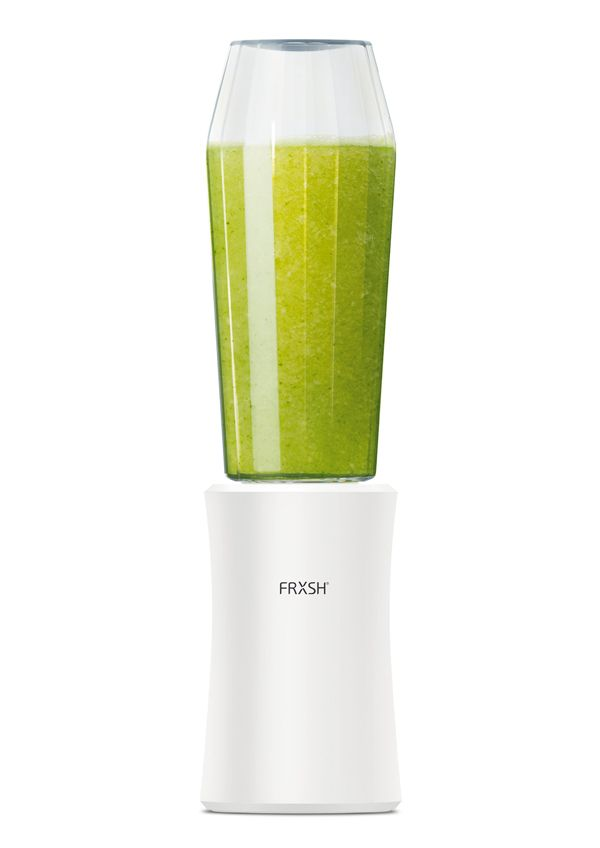 frxsh  ---  Like the concept. It solves the problem I always had with blenders. They are bulky on the kitchen counter and are only used for a minimal amount of time a day. Carrying the bottle around or putting it in the fridge is a good idea.  And I enjoy that different bottle shapes will influence the blending experience.