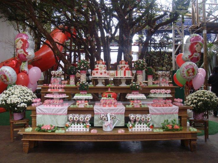 festa moranguinho: Festa Amana, Ideas For, Party Decoration, For Parties, Party, Party Ideas, Birthday Party