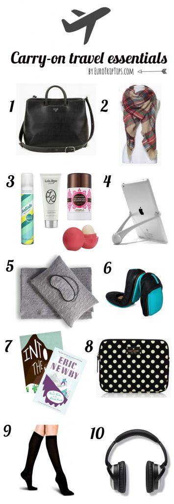 My carry-on packing guide #travel http://www.eurotriptips.com/carry-on-packing-essentials/