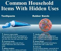 Common household items with hidden uses