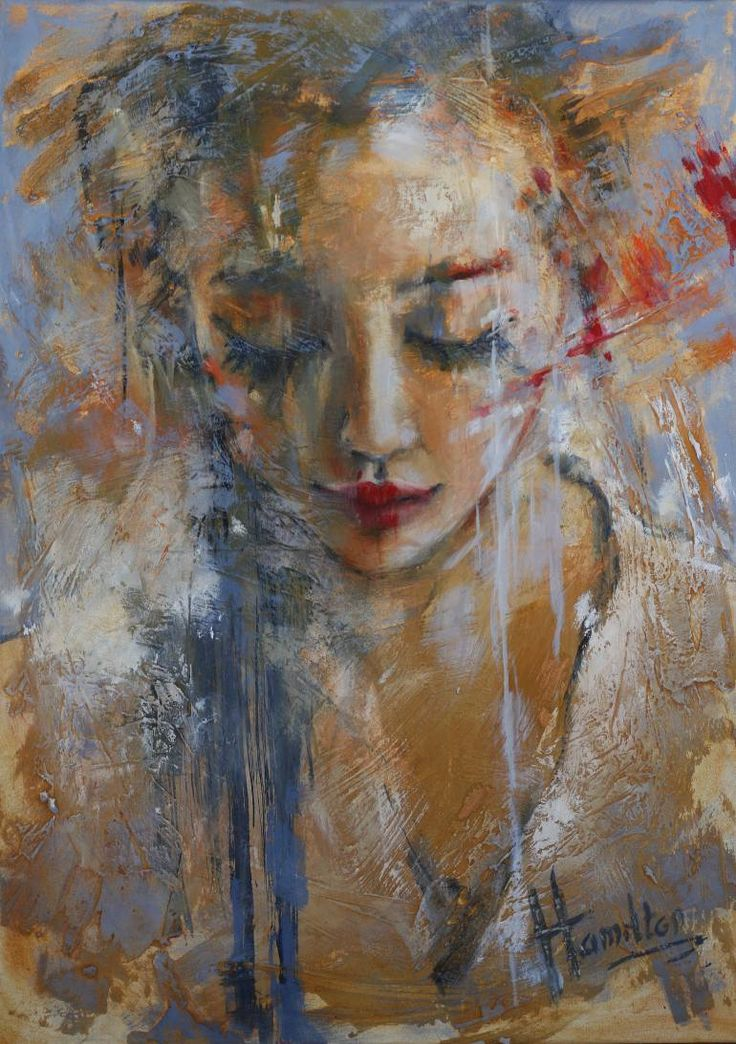"Saatchi Art Artist Evelyn Hamilton; Painting, ""So in love with you"" #art"