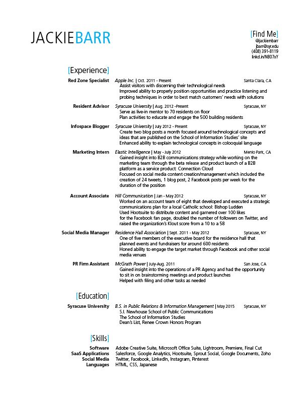 15 best Resumes \ Career Inspirations images on Pinterest Resume - tech resume