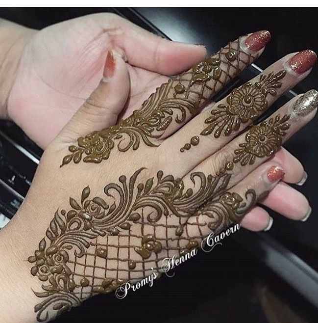 "3,134 Likes, 6 Comments - Henna Designs / Photography (@hennalookbookin) on Instagram: ""Unknown henna artist please tag if known, #Repost @hermosa.world Nails are done by them . . #Henna…"""