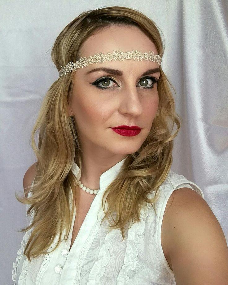 Gatsby makeup https://www.facebook.com/Monika.Be.Inspired/