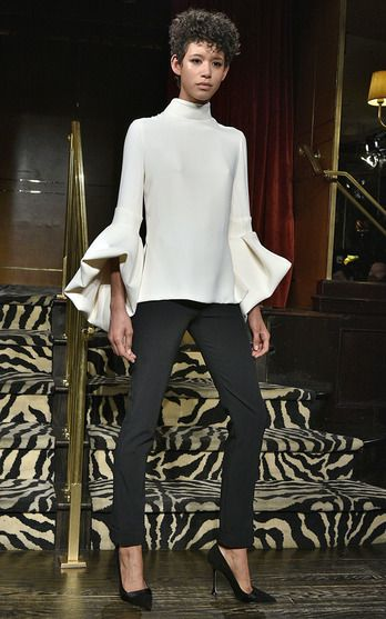 Brandon Maxwell Look 8 on Moda Operandi