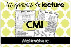 J'ai reçu il y a quelques jours une contribution considérable ! Luc partage avec vous des gammes de lecture, construites sur le même modèle que les miennes, mais plus corsées, niveau CM1. Et les cinq périodes d'un coup en plus ! En voilà une bonne nouvelle, n'est-ce pas ? Cliquez pour télécharger… *gammes de lecture CM1 période 1 *gammes de lecture CM1 période 2 *gammes de lecture CM1 période 3 *gammes de lecture CM1 période 4 *gammes de lecture CM1… Savoir plus