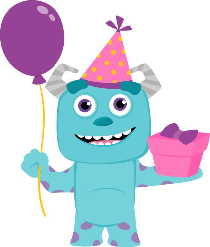 Clipart de Monster Party Bebés. | Oh My Bebé!