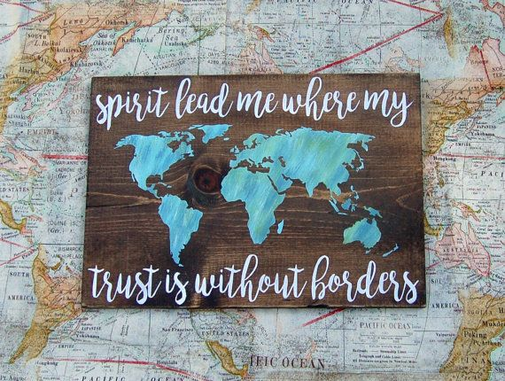 Spirit Lead Me Where My Trust Is Without by CraftBossDesigns