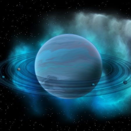 neptune and its rings