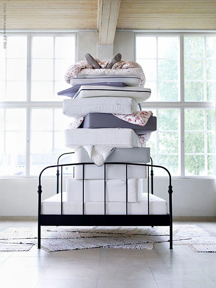 Inte bara små prinsessor blir kinkiga om de inte får sin sova sin skönhetssömn! Det viktigaste att tänka på när du köper madrass är längd och vikt, vilken sovställning du har, och om du är varm eller kall av dig.