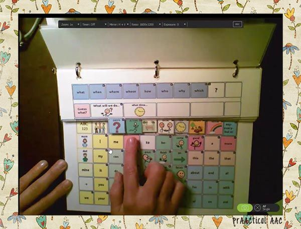 Make It Monday: More Words, Please! Expanding Our Manual Communication Boards