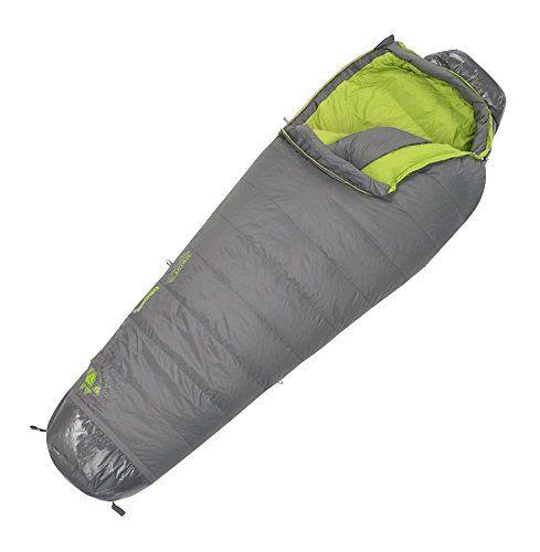 Kelty Womens SB20 20 Degree 800 Fill DriDown Sleeping Bag Regular RH Revolutionary
