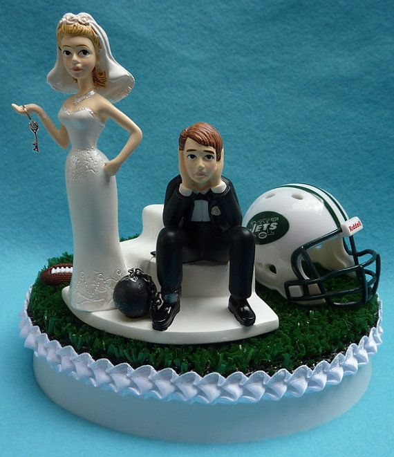 miami dolphin wedding cake toppers wedding cake topper new york jets ny football themed 17330