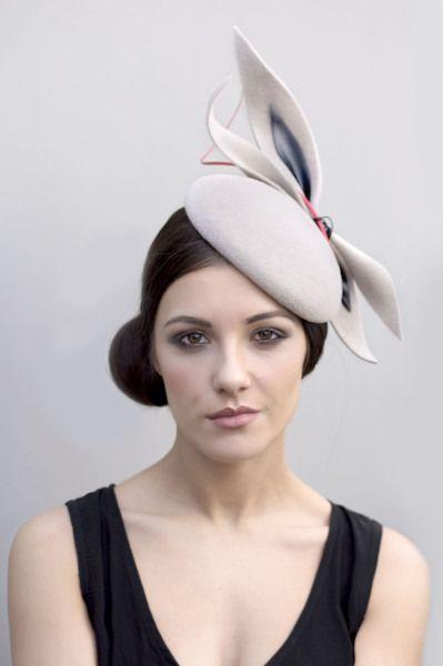 Felt Beret  BY MAGGIE MOWBRAY   #millinery #hats #HatAcademy