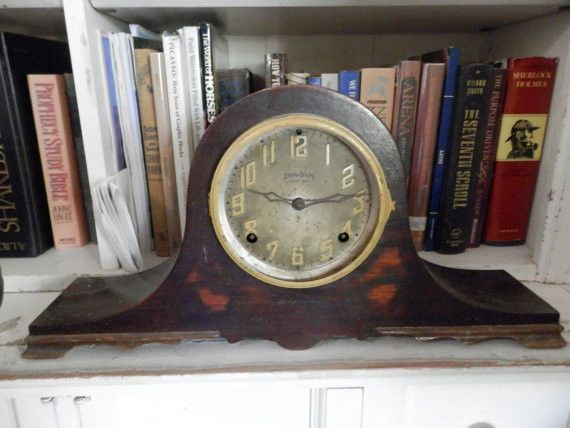 Gorgeous Old E. Ingraham Clock Wood Case. Clocks > Antique (Pre-1930) > Other. It is very beautiful. Advertising > Other. | eBay!