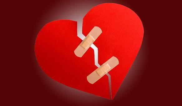 Hoe je een gebroken hart kan opruimen