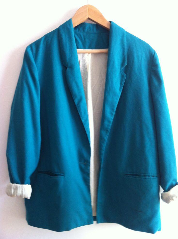 Sugar Kane vintage oversized blazer