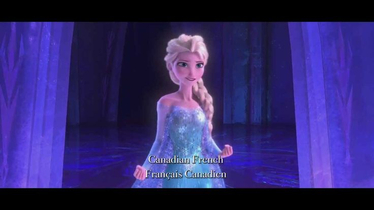 Let It Go in 25 languages! FROZEN - Let It Go Multilanguage Clip | This is awesome!