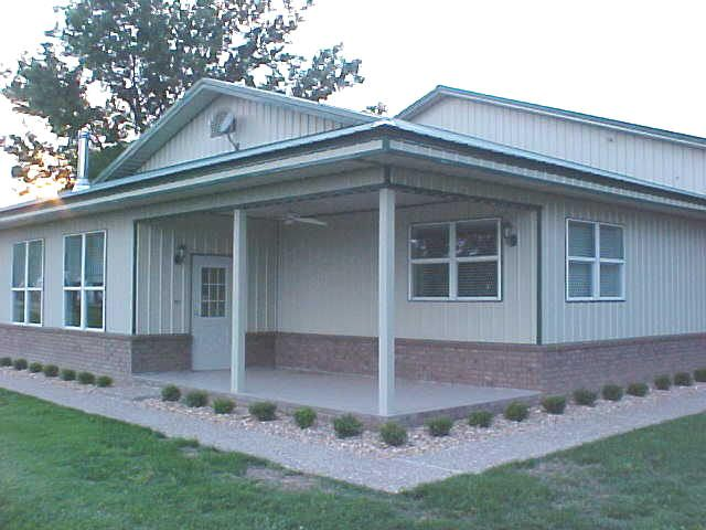 Steel buildings with living quarters floor plans for Custom garages with living quarters