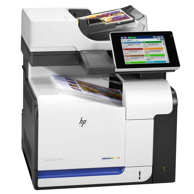 Hp Laserjet Enterprise 500 Color Mfp M575f Multifunction Printer Laser Printer Hp Printer