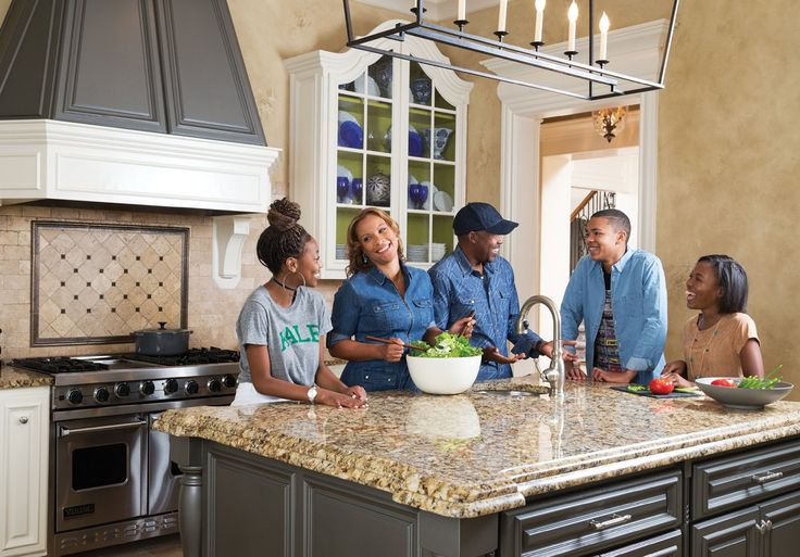 Blockbuster film producer Will Packer and his wife Heather's Sandy Springs home is a sprawling, stylish family clubhouse well suited for their 21st-century Brady Bunch.