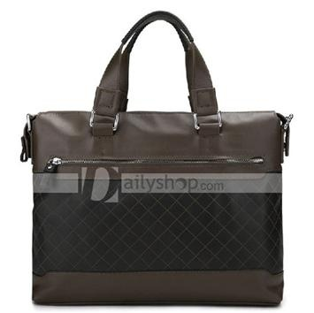 Durable Leather Business Office Men's Bag